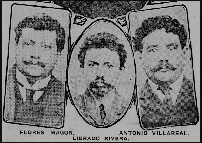MX-Revs-Magon-Rivera-Villareal-El-Paso-Hld-Aug-30-1907