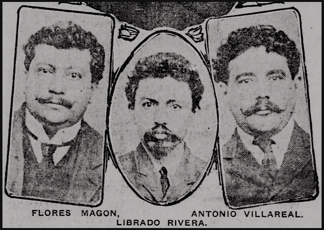 MX-Revs-Magon-Rivera-Villareal-El-Paso-Hld-Aug-30-1907